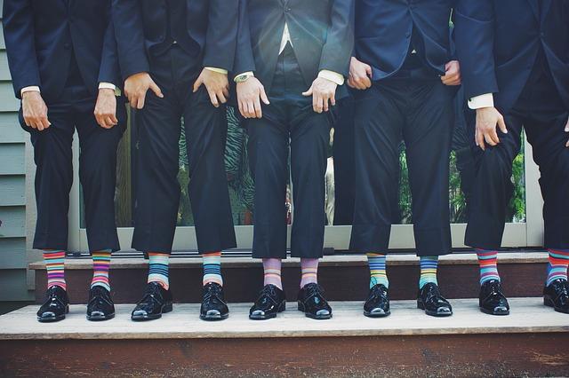 Barevné a veselé ponožky? Proč ne