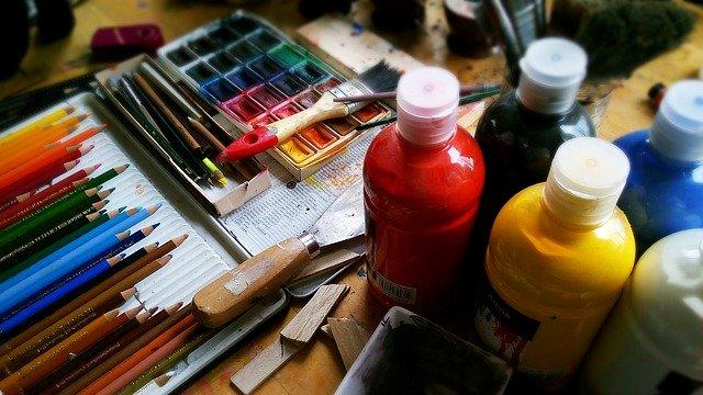 Pomůcky na malování