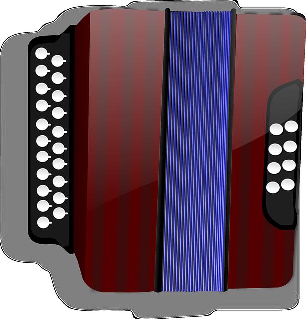 klasická tahací harmonika